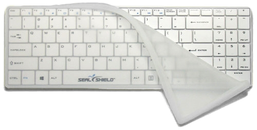 Clean Wipe Medical Grade Chiclet Keyboard - Bluetooth, Waterproof, Antimicrobial - SSKSV099 and SSKSV099BT