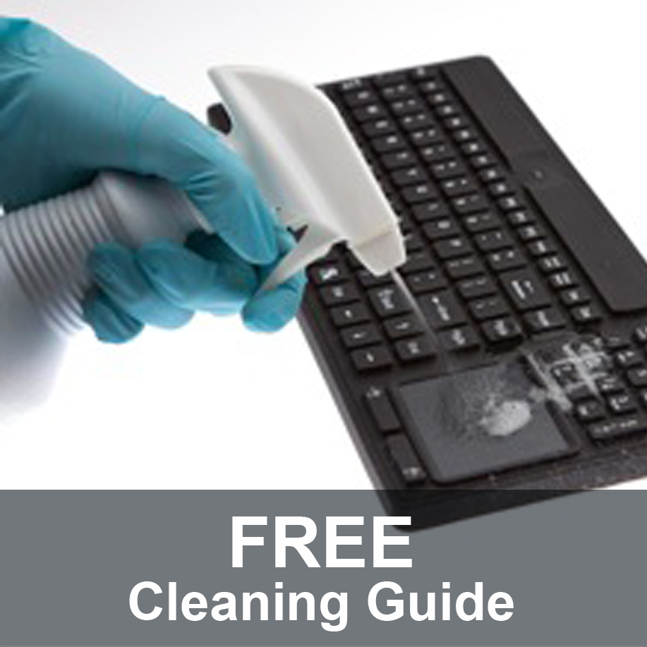 Free Cleaning Guide for Washable Computer Keyboards and Mice from WetKeys