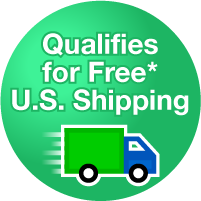 All products can qualify for Fee U.S. Domestic Shipping