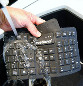 WetKeys Food Safety Compliance Computer Keyboards and Mice
