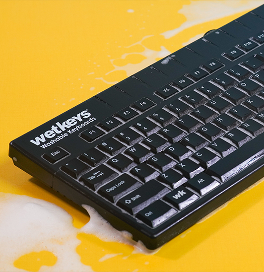 WetKeys and Sanitype Free Cleaning Guide for Washable and Waterproof Computer Keyboards and Mice