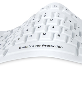 SaniType for Sanitary Typing Medical Hygienic Computer Keyboards